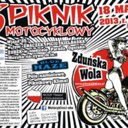 6 Piknik Motocyklowy w Zduńskiej Woli 2013