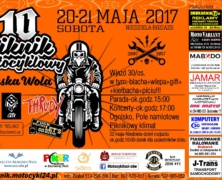 10 Piiknik Motocyklowy w Zduńskiej Woli 2017