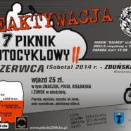 7 Piknik Motocyklowy w Zduńskiej Woli 2014 edycja II